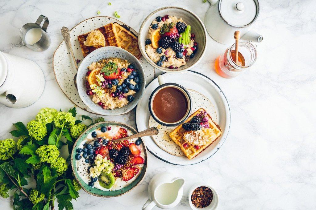 petit-déjeuner brûleur de graisses